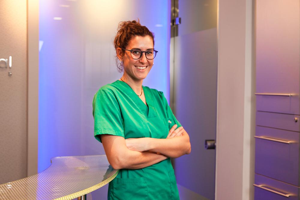 Entrevista a l'Àura Font, cirurgia bucodental de Salut Dental Penedès