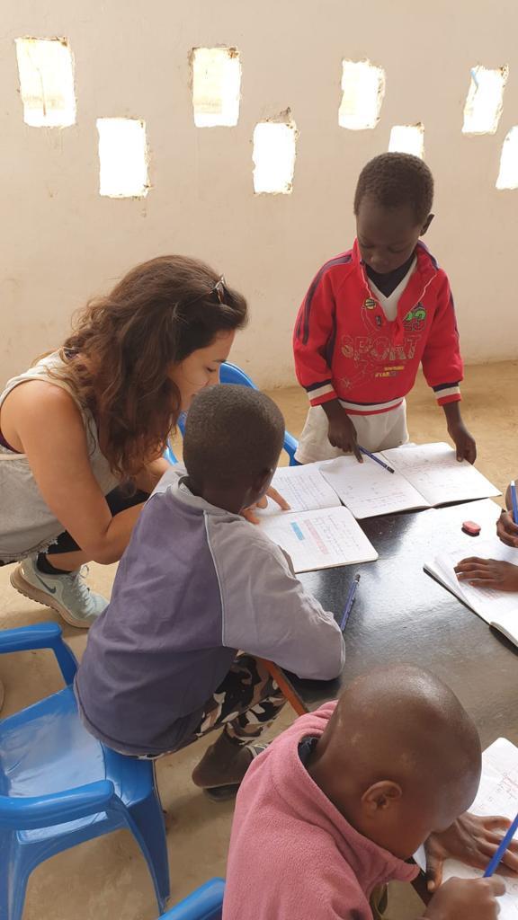 Mireia Morera a Kafoutine, Senegal