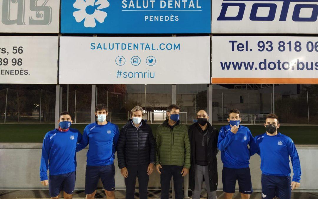 Salut Dental Penedès patrocinador delFCVilafranca