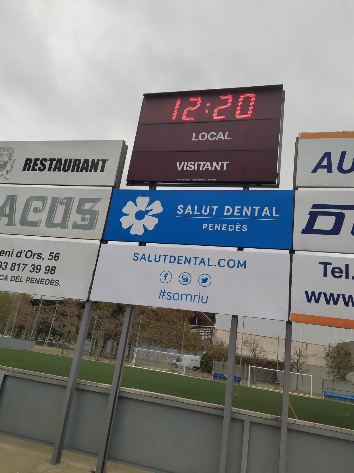 Patrocini / Conveni Salut Dental Penedès - FC Vilafranca